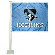 Johns Hopkins Blue Jays Car Flag
