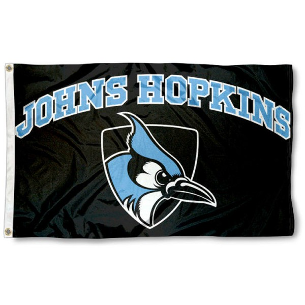Johns Hopkins Blue Jays College Flag