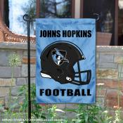 Johns Hopkins Blue Jays Football Garden Flag