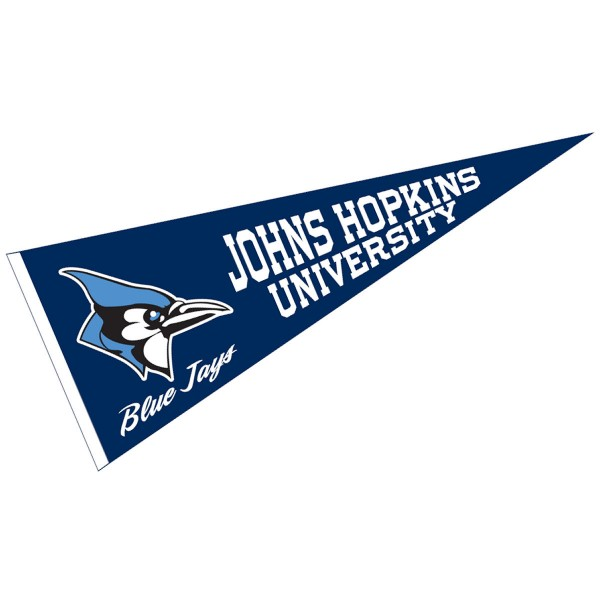 Johns Hopkins Blue Jays Pennant