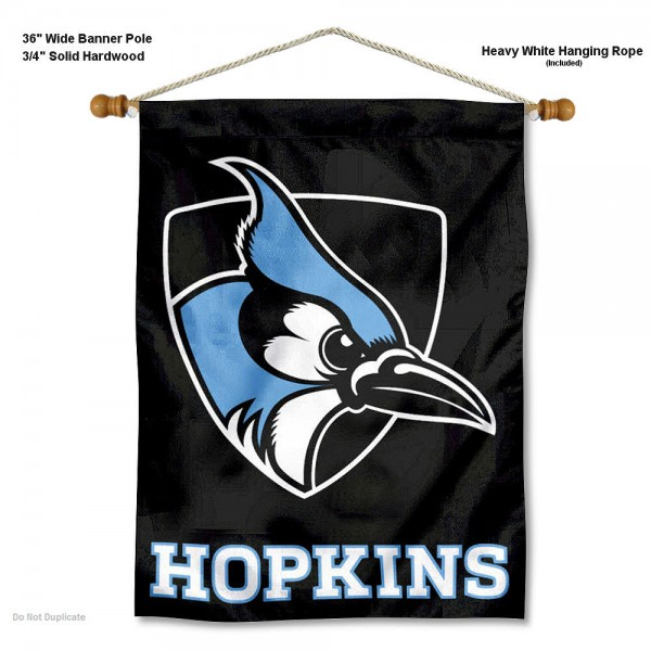 Johns Hopkins Blue Jays Wall Hanging