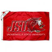 JSU Gamecocks Logo 4'x6' Flag
