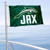 JU Dolphins Boat Nautical Flag