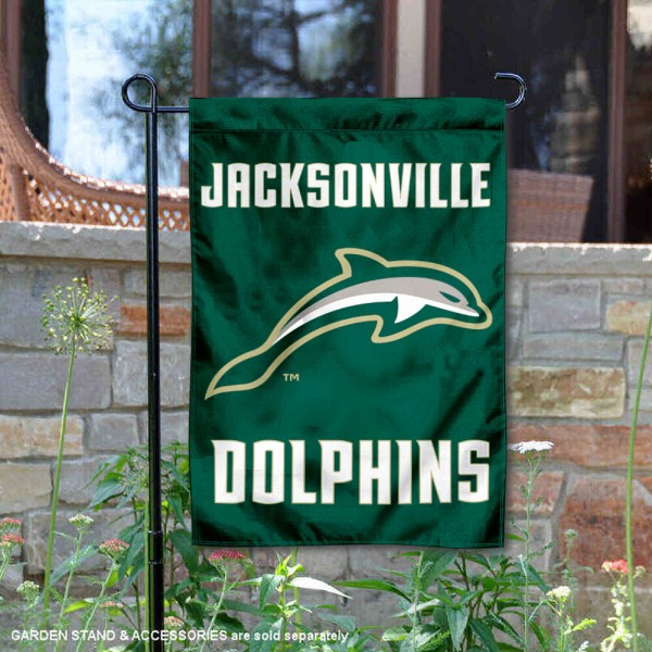 JU Dolphins Garden Flag