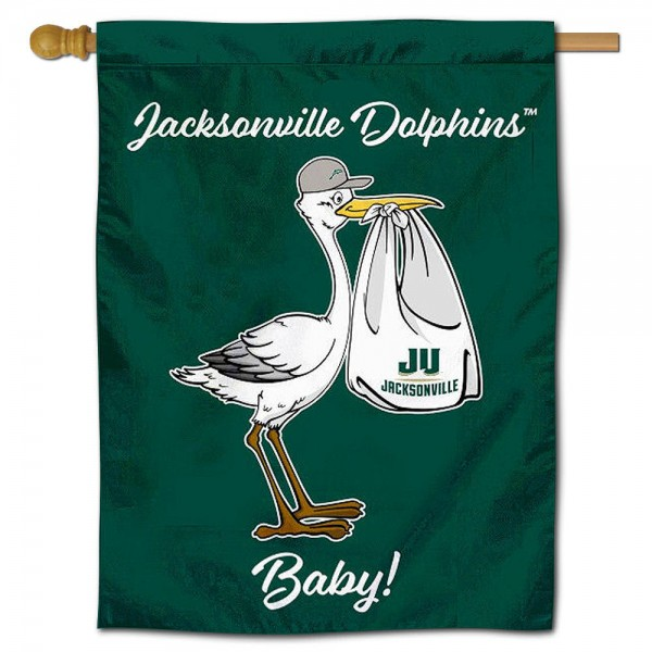 JU Dolphins New Baby Banner