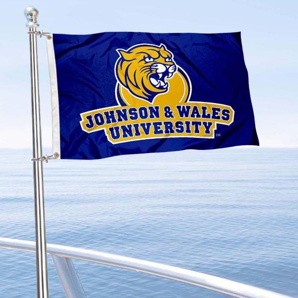 JWU Wildcats Boat Nautical Flag