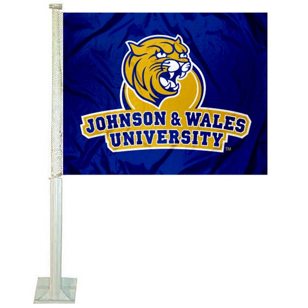 JWU Wildcats Car Flag