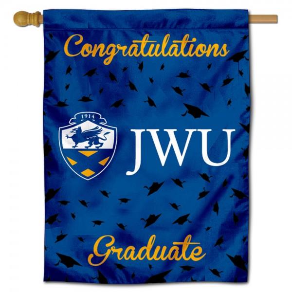 JWU Wildcats Graduation Banner