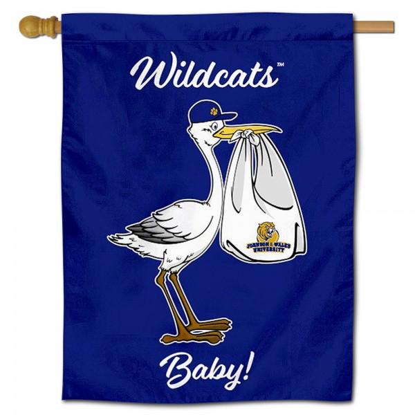 JWU Wildcats New Baby Banner