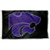 K-State Wildcats Black Flag
