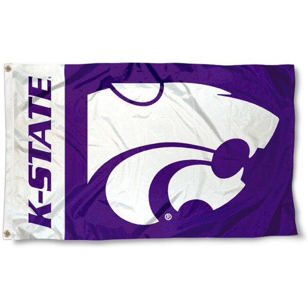 K State Wildcats Flag