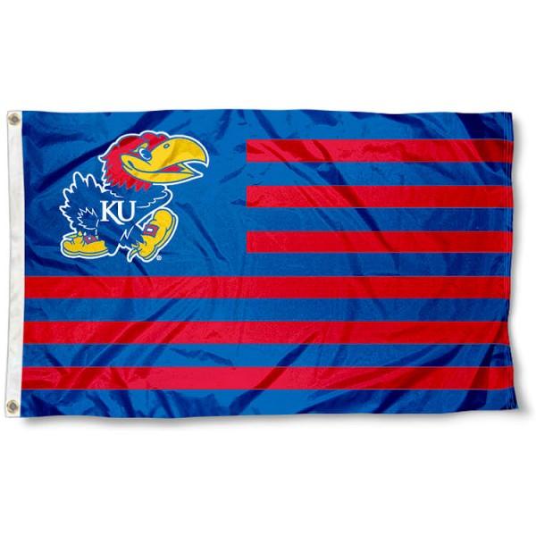 Kansas Jayhawk Nation Flag