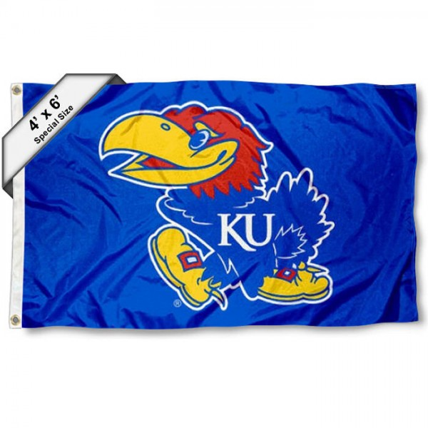 Kansas Jayhawks 4'x6' Flag