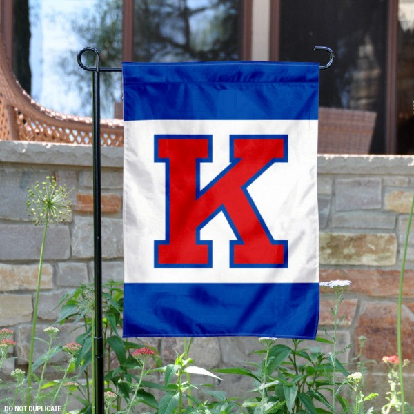 Kansas Jayhawks Big K Garden Flag