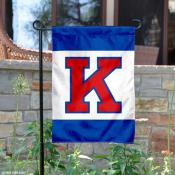 Kansas Jayhawks Big K Garden Flag