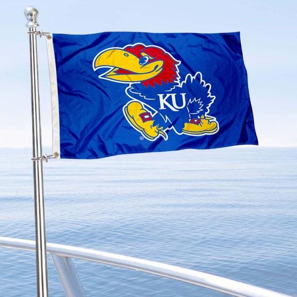 Kansas Jayhawks Boat Flag
