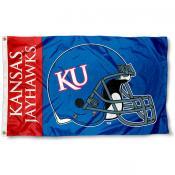 Kansas Jayhawks Football Flag