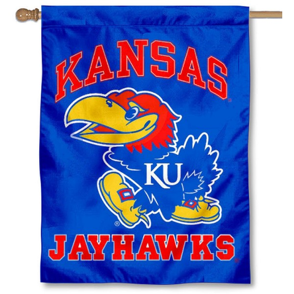 Kansas Jayhawks House Flag