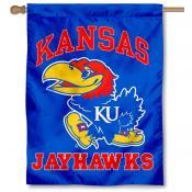 Kansas Jayhawks House Flag