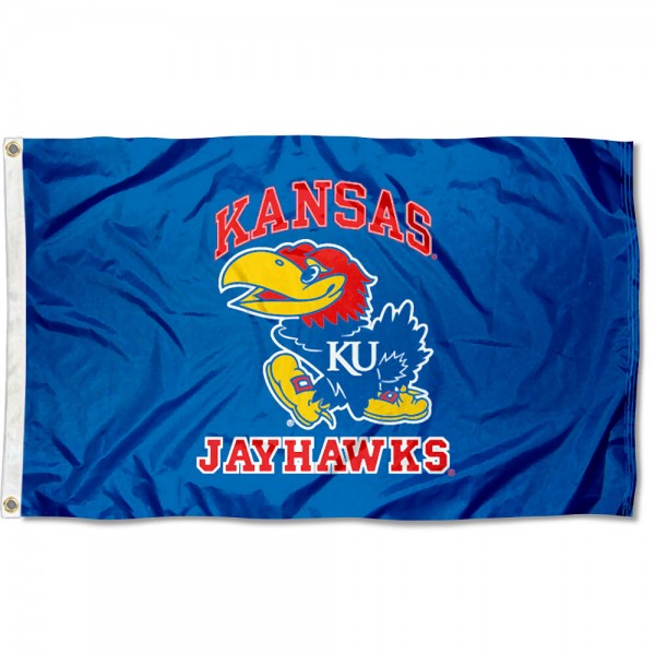 Kansas Jayhawks Large Flag