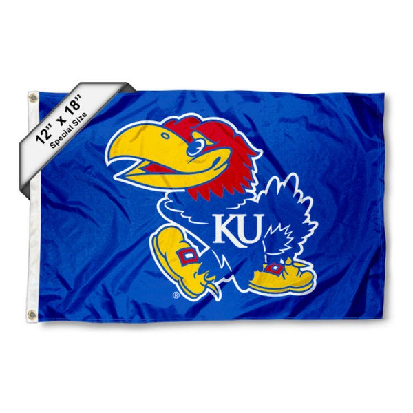 Kansas Jayhawks Mini Flag