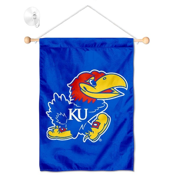 Kansas Jayhawks Small Wall and Window Banner