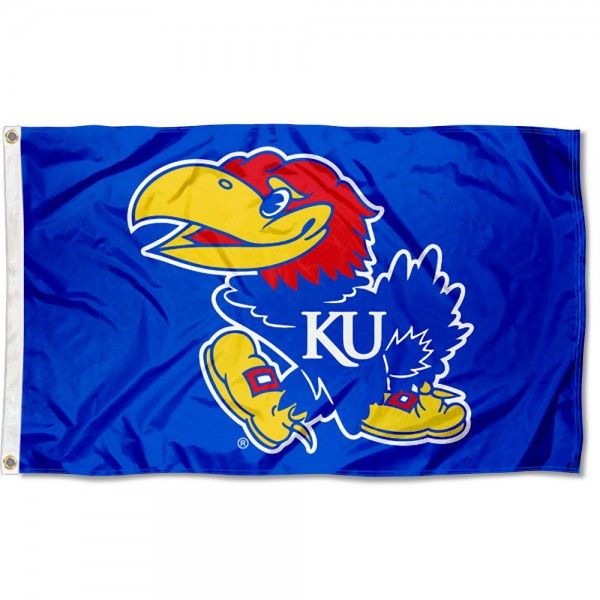 Kansas KU Jayhawks 3x5 Foot Flag