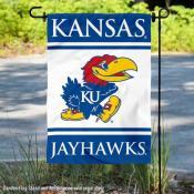 Kansas KU Jayhawks Garden Flag
