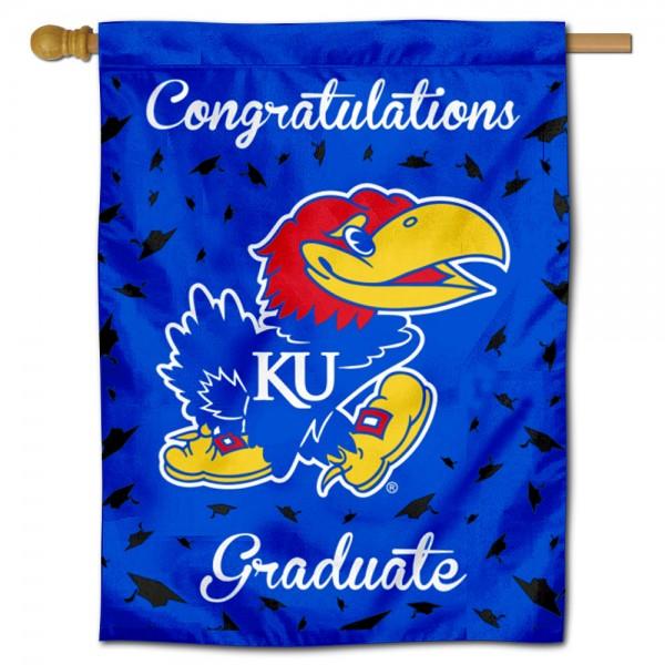 Kansas KU Jayhawks Graduation Banner