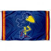 Kansas KU Jayhawks Retro Vintage 3x5 Feet Banner Flag
