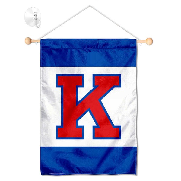 Kansas KU Jayhawks Small Wall and Window Banner