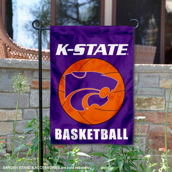 Kansas State University Basketball Garden Flag