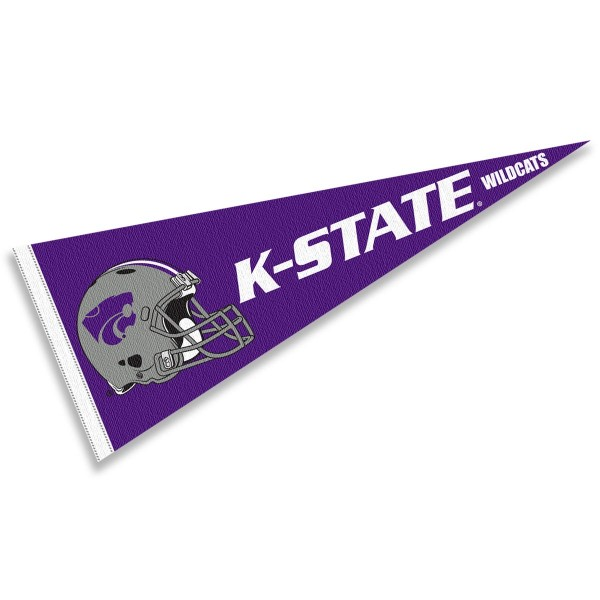 Kansas State University Football Helmet Pennant