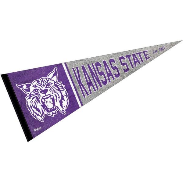 Kansas State University Wildcats Pennant