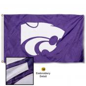 Kansas State Wildcats Appliqued Nylon Flag