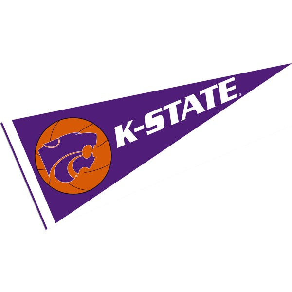 Kansas State Wildcats Basketball Pennant