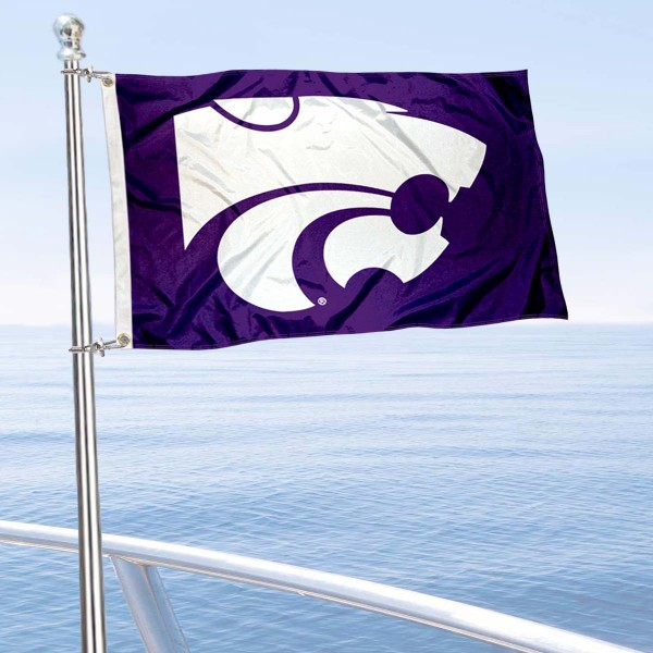 Kansas State Wildcats Boat Flag