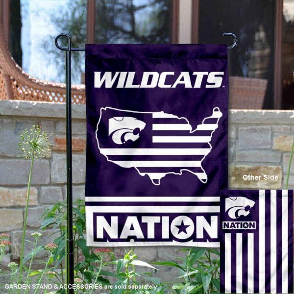 Kansas State Wildcats Nation Garden Flag