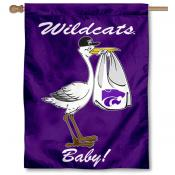 Kansas State Wildcats New Baby Banner