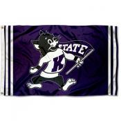 Kansas State Wildcats Retro Vintage 3x5 Feet Banner Flag