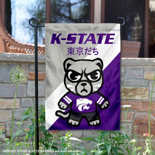 Kansas State Wildcats Yuru Chara Tokyo Dachi Garden Flag
