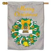 Kennesaw State Owls Christmas Holiday House Flag