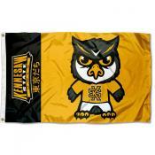 Kennesaw State Owls Tokyodachi Cartoon Mascot Flag