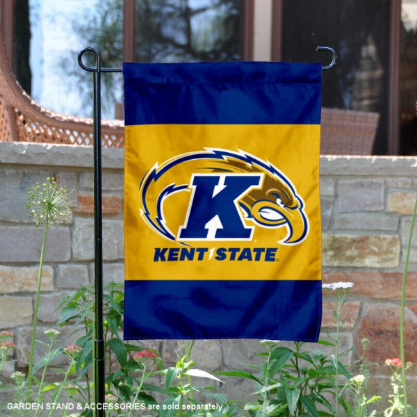 Kent State Golden Flashes Gold Garden Flag