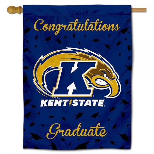 Kent State Golden Flashes Graduation Banner