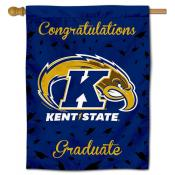 Kent State Golden Flashes Graduation Banner