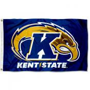 Kent State University New Bolt Logo Flag