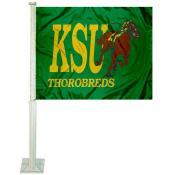 Kentucky State Thorobreds Logo Car Flag