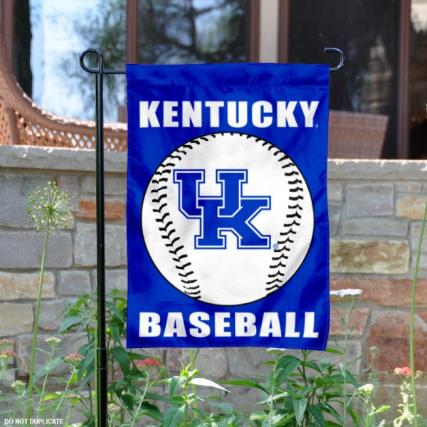 Kentucky UK Wildcats Baseball Garden Flag