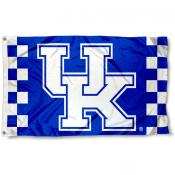 Kentucky UK Wildcats Checkerboard Flag